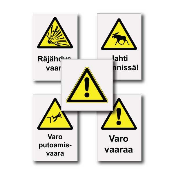 Heijastavat varoituskilvet
