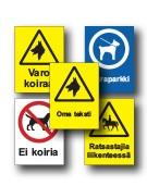 Koira- ja ratsastusmerkit