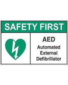 Automated External Defibrillator sfa