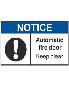 Automatic Fire Door an