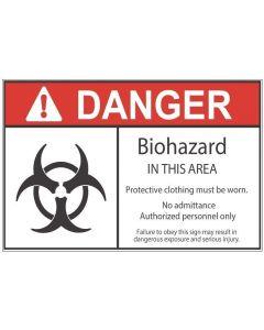 Biohazard Area ad