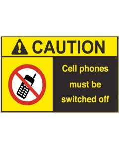 Cell Phones Off ac
