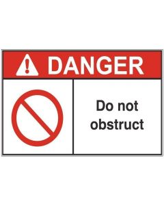 Do Not Obsctruct ad
