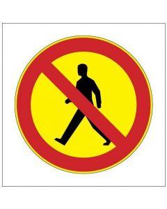 Ei jalankulkua