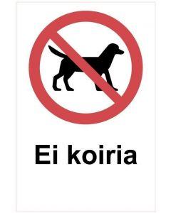 Ei koiria