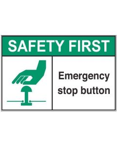 Emergency Stop Button sfa