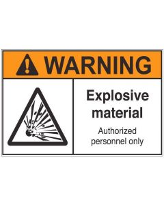 Explosive Material aw