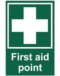 First aid point (b)