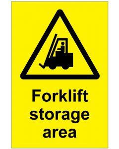 Forklift storage area (b)