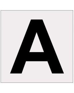 Heijastava kirjain A
