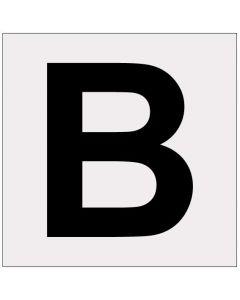 Heijastava kirjain B