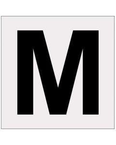 Heijastava kirjain M
