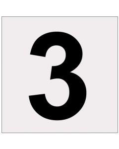 Heijastava numero 3
