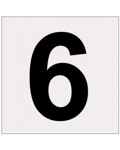 Heijastava numero 6