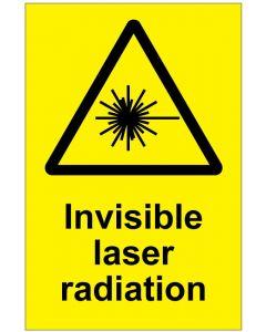 Invisible laser radiation (b)