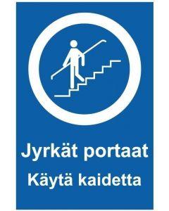 Jyrkät portaat