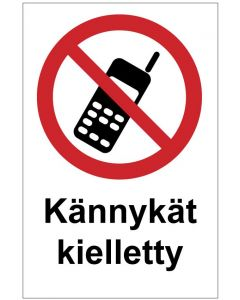 Kännykät kielletty MAG