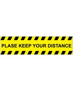 Please keep your distance SK2