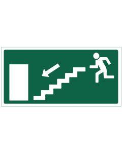 Poistumistie portaat alas vasen