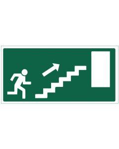 Poistumistie portaat ylös oikea