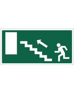 Poistumistie portaat ylös vasen
