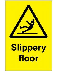 Slippery floor (b)