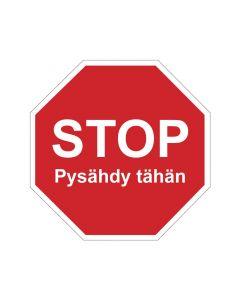 STOP pysähdy tähän