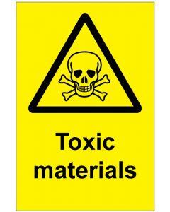 Toxic materials (b)