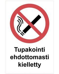 Tupakointi ehdottomasti kk