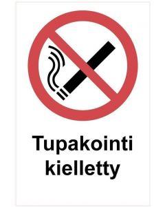 Tupakointi kielletty kk