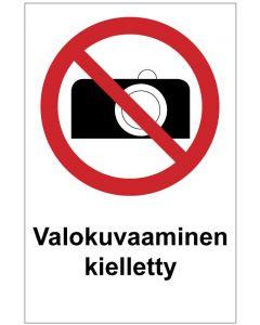 Valokuvaaminen kielletty MAG