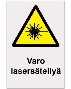 Varo lasersäteilyä heijastava
