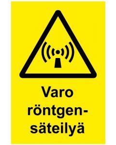 Varo röntgensäteilyä MAG