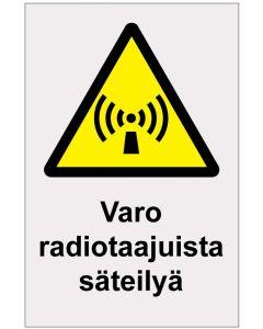 Varo radiotaajuista säteilyä heijastava