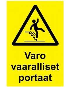 Varo vaaralliset portaat