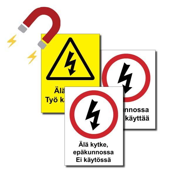 Sähkömerkit magneetti