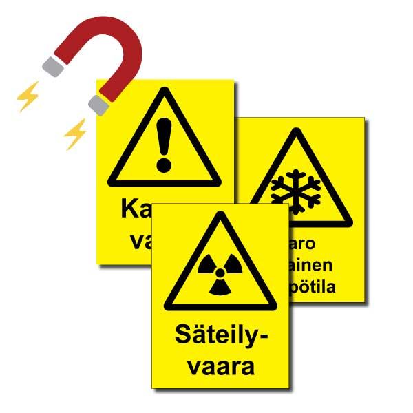 Varoitusmerkit magneetti