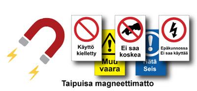 Magneettiset turvamerkit